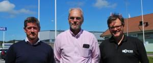 Imatech Carl Fornanderm Sven Johansson och Patric Nilsson