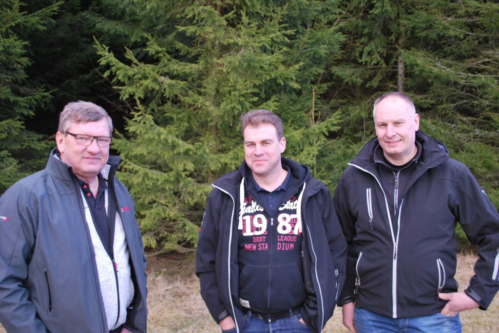 Sven-Olof Svensson, Tommy Andersson, Fredrik Sporreklint