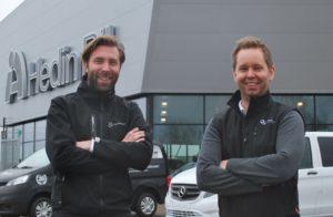 Christoffer Devini och Olof Thulin 1